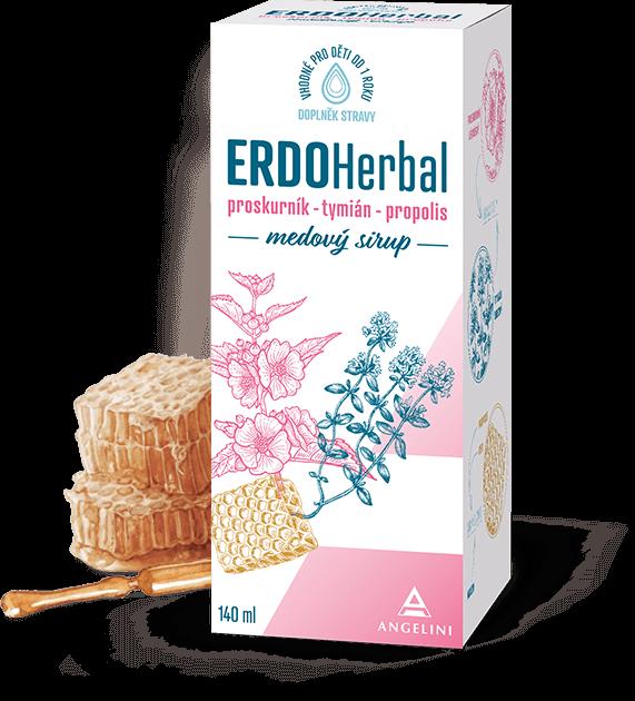 Přírodní medový sirup ERDOHerbal